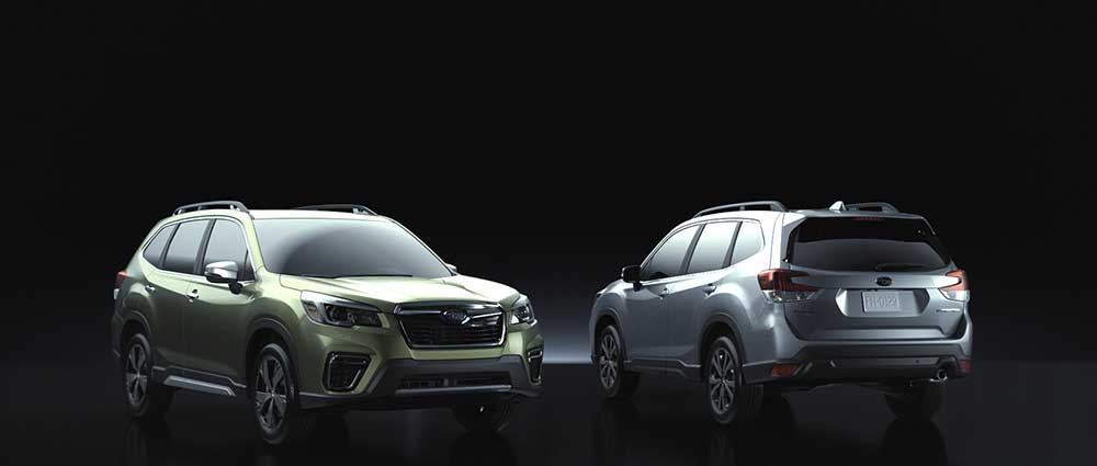 2019 subaru forester models